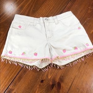 Jordache Strawberry Jean Shorts
